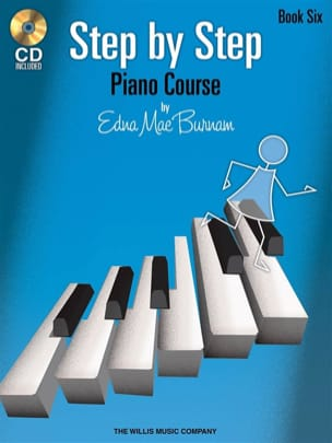 Edna-Mae Burnam - Step by Step Piano Course vol.6 - Sheet Music - di-arezzo.co.uk