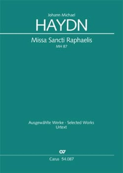 Missa Sancti Raphaelis MH 87/111 - Michael HAYDN - laflutedepan.com