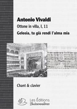 VIVALDI - Gelosia. Ottone in Villa - Sheet Music - di-arezzo.co.uk