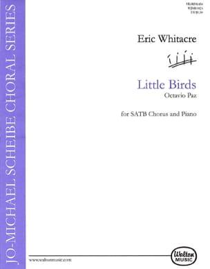 Little Birds Eric Whitacre Partition Chœur - laflutedepan