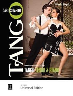 Tango - Carlos Gardel - Partition - Mélodies - laflutedepan.com