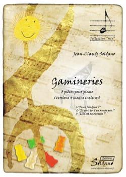 Jean-Claude SOLDANO - Gamineries - Partition - di-arezzo.fr