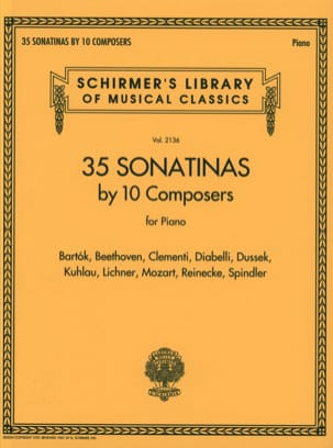 35 Sonatines - Partition - di-arezzo.co.uk