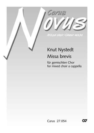 Missa Brevis op. 102 - Knut Nystedt - Partition - laflutedepan.com