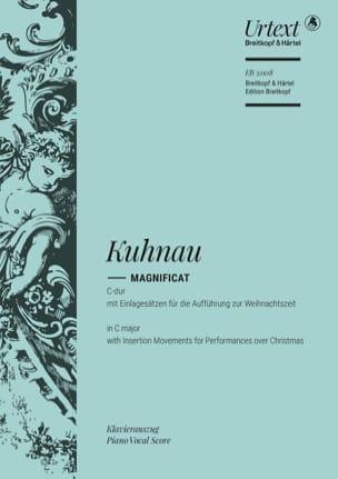 Magnificat en Do majeur - Johann Kuhnau - laflutedepan.com