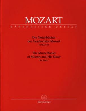 Die Notenbücher der Gescwister Mozart MOZART Partition laflutedepan