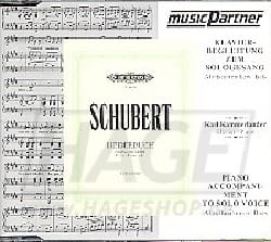 SCHUBERT - Liederbuch CD - Partition - di-arezzo.fr
