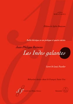 Jean-Philippe Rameau - The gallant Indies - Sheet Music - di-arezzo.com