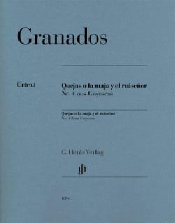 Enrique Granados - Quejas O la Maja Y El Ruisenor - Partitura - di-arezzo.es