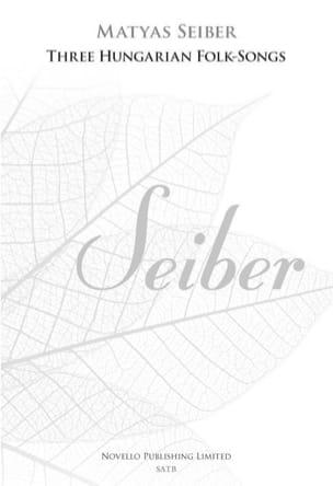 Matyas Seiber - 3 Hungarian folksongs - Sheet Music - di-arezzo.co.uk