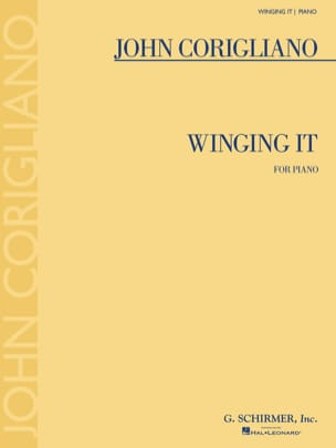Winging It - John Corigliano - Partition - Piano - laflutedepan.com