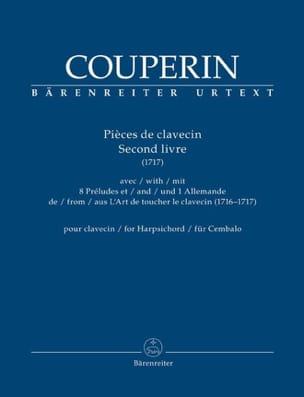 François Couperin - Pièces de Clavecin. 2ème livre (1717) - Partition - di-arezzo.fr