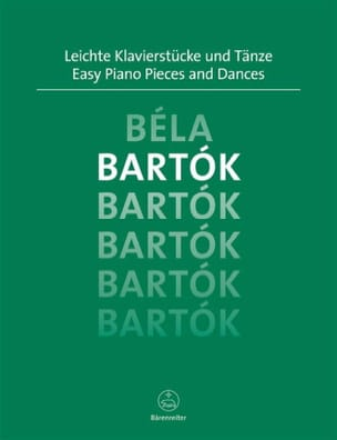 Easy Piano Pieces and Dances - BARTOK - Partition - laflutedepan.com