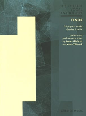 The Chester vocal Anthology. Tenor Partition Recueils - laflutedepan