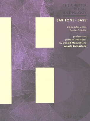 The Chester Vocal Anthology. Baryton - Basse Partition laflutedepan