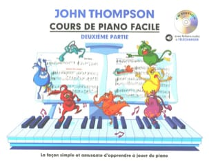 John Thompson - Easy Piano Lesson Volume 2 - Sheet Music - di-arezzo.co.uk