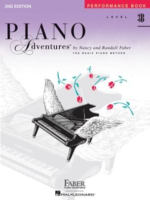 Piano Adventures 3B Performance Book Nancy Faber laflutedepan