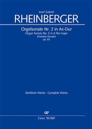 Josef Gabriel Rheinberger - Sister N ° 2 Opus 65 - Sheet Music - di-arezzo.co.uk