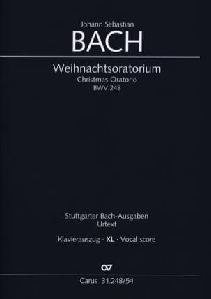 BACH - Weihnachtsoratorium Bwv 248 XL Format - Partition - di-arezzo.fr