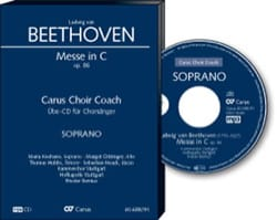 BEETHOVEN - Messe En Ut Opus 86. CD Basse - Partition - di-arezzo.fr