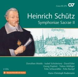 Heinrich Schütz - Symphonia Sacrae II. 2 CDs - Sheet Music - di-arezzo.co.uk