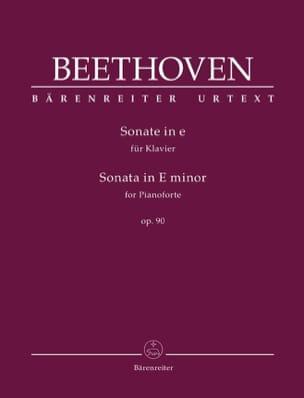 Sonate pour Piano n° 27 Mi mineur Opus 90 BEETHOVEN laflutedepan