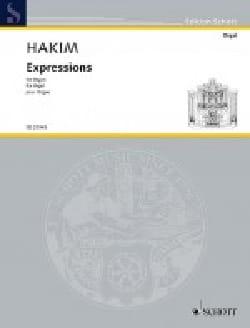 Expressions Naji Hakim Partition Orgue - laflutedepan