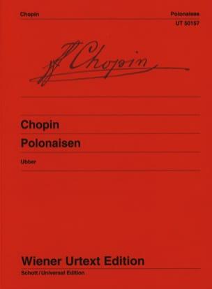 CHOPIN - Polonaises - Partition - di-arezzo.fr