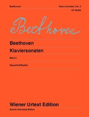 BEETHOVEN - Piano Sonatas - Volume 3 - Sheet Music - di-arezzo.co.uk