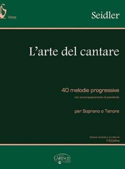 Gaetano Seidler - The arte del cantare - Sheet Music - di-arezzo.com