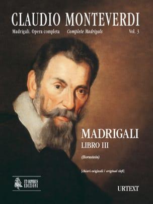 Madrigali Libro 3 - Claudio Monteverdi - Partition - laflutedepan.com