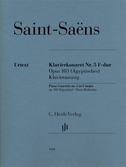 Concerto Pour Piano n° 5 Opus 103 - SAINT-SAËNS - laflutedepan.com