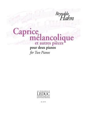 Caprice Mélancolique et autres pièces. 2 pianos - laflutedepan.com