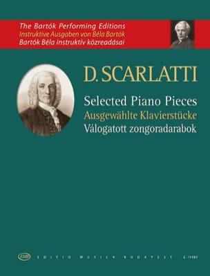 Sélection de pièces pour piano - Domenico Scarlatti - laflutedepan.com