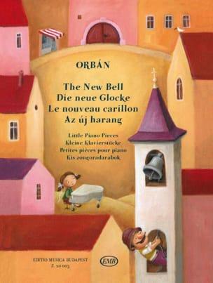 Le nouveau carillon György Orban Partition Piano - laflutedepan