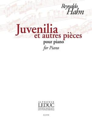 Juvenilia et autres pièces Reynaldo Hahn Partition laflutedepan