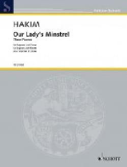 Naji Hakim - Our Lady's Minstrel - Partition - di-arezzo.fr