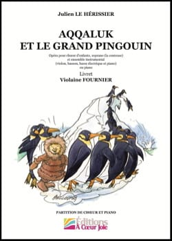 Hérissier Julien Le - Aqqaluk et le grand pingouin - Livre - di-arezzo.fr