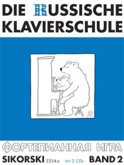 Alexander Nikolaev - Die Russische klavierschule Volume 2 CD - Sheet Music - di-arezzo.co.uk