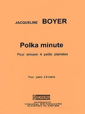 Polka minute. 8 mains Jacqueline Boyer Partition Piano - laflutedepan