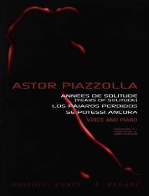 Astor Piazzolla - Years of loneliness - Sheet Music - di-arezzo.co.uk