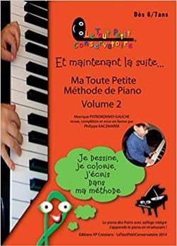 Monique Pstrokonsky-Gauche - My Little Piano Method Volume 2 - Sheet Music - di-arezzo.co.uk