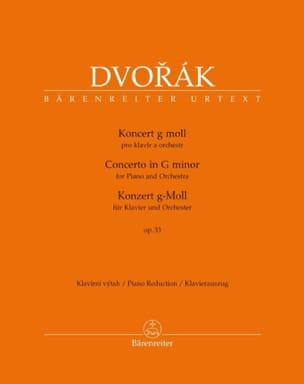 DVORAK - Opus 33 Concierto para piano - Partitura - di-arezzo.es