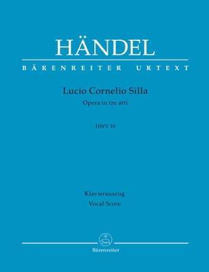 HAENDEL - Lucio Cornelio Silla Hwv 10 - Sheet Music - di-arezzo.co.uk