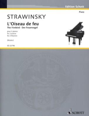 Igor Stravinski - Fire Bird - Sheet Music - di-arezzo.com
