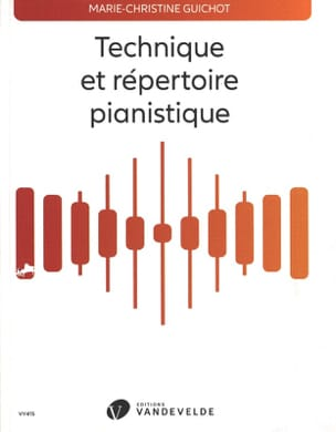 Marie-Christine Guichot - Technical and piano repertoire - Book - di-arezzo.com