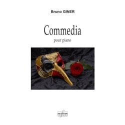 Commedia - Bruno Giner - Partition - Piano - laflutedepan.com