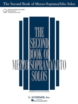 - The Second Book of Mezzo Sopranos / Altos Solos - Sheet Music - di-arezzo.co.uk