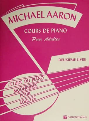 Michael Aaron - Adult Piano Course Volume 2 - Sheet Music - di-arezzo.co.uk