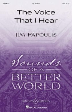 The Voice That I Hear - Jim Papoulis - Partition - laflutedepan.com